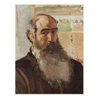 Self portrait - Camille Pissarro Postcard