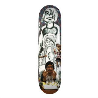 Self-Portrait (Christopher Saturn) Skateboard