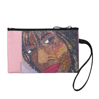 """Self Portrait"" Coin Clutch Purse"
