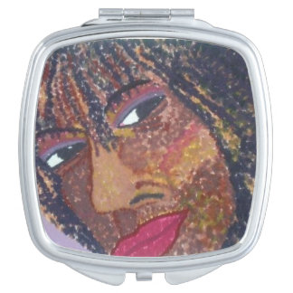"""Self Portrait"" Compact Mirror"