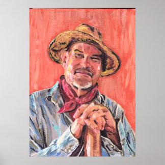 Self Portrait Homage to Vincent Posters
