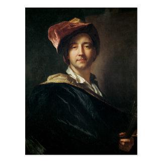 Self Portrait in a Turban, 1700 Postcard