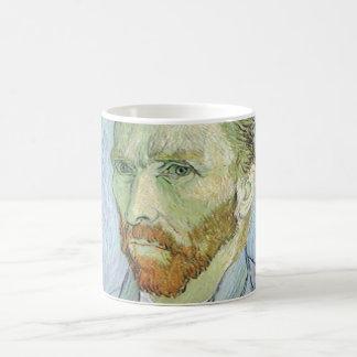 Self Portrait in Blue by Vincent van Gogh Coffee Mugs