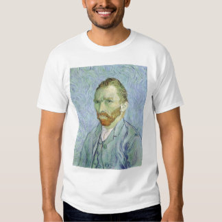 Self Portrait in Blue by Vincent van Gogh Shirts