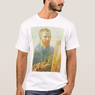 Self Portrait in Front of Easel, Vincent van Gogh T-Shirt