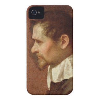 Self Portrait in Profile (oil on canvas) iPhone 4 Case-Mate Cases