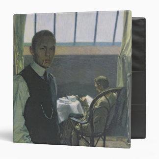 Self Portrait in the Studio, 1904 3 Ring Binders