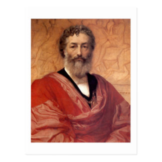Self-portrait - Lord Frederick Leighton Postcard