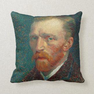 Self Portrait of Vincent Van Gogh (1887) Throw Pillow