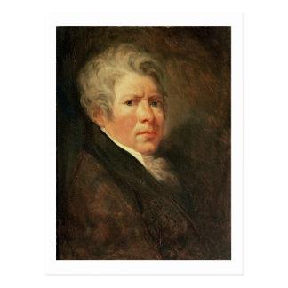 Self Portrait (oil on panel) Postcard
