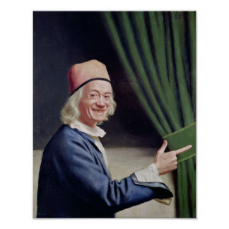 Self Portrait Smiling, c.1770-73 Poster