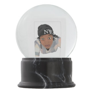 Self Portrait SnowGlobe Snow Globe