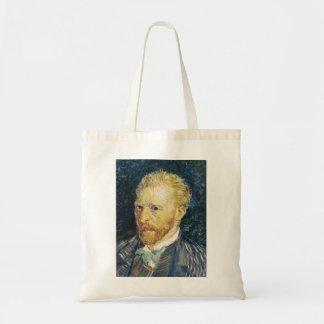 Self Portrait Vincent van Gogh fine art painting Budget Tote Bag