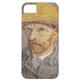 Self-Portrait with a Straw Hat - Van Gogh iPhone 5 Cases