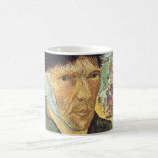 Self Portrait with Bandaged Ear; Vincent van Gogh Coffee Mug