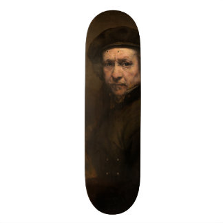 Self-Portrait with Beret by Rembrandt Skate Decks