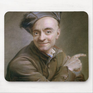 Self Portrait with the bull's-eye, 1737 Mouse Pad