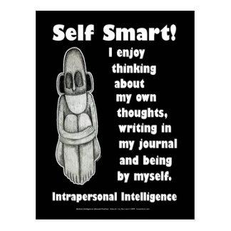 Self Smart - Blank Postcard
