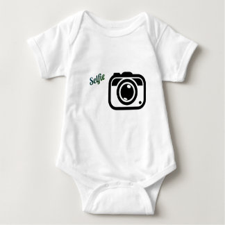 selfie baby bodysuit