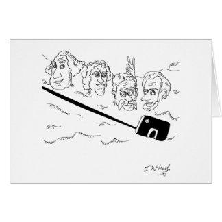 Selfie Cartoon 9342 Card