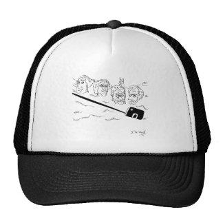Selfie Cartoon 9342 Trucker Hat