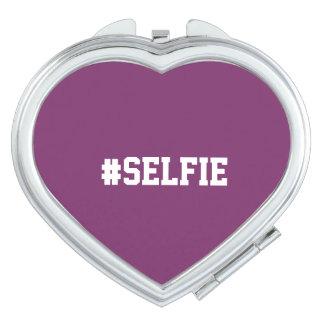 #selfie Compact Mirror