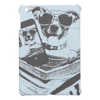 selfie dogs iPad mini cover