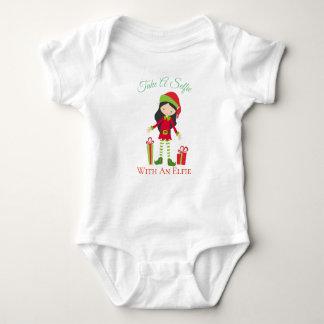 Selfie Elfie Baby Bodysuit