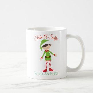 Selfie Elfie Coffee Mug