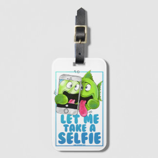 Selfie Fish Luggage Tag