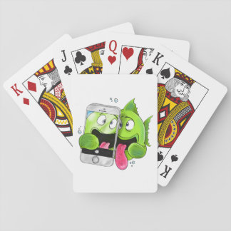 Selfie Fish Playing Cards
