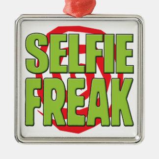 Selfie Freak G Metal Ornament