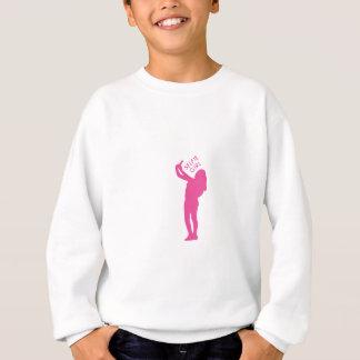 Selfie Girl Graphic Sweatshirt