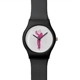 Selfie Girl Graphic Watch