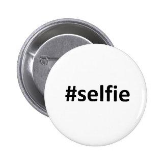 Selfie Hashtag 2 Inch Round Button