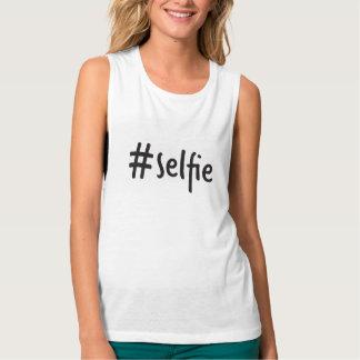 #selfie muscle singlet tank top