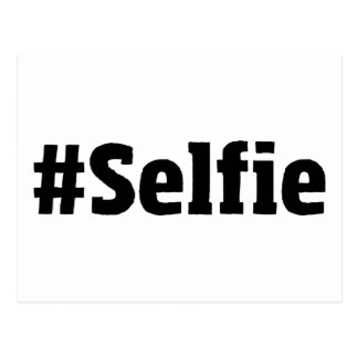 #Selfie Postcard