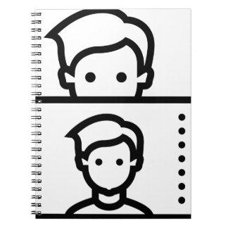 Selfie Spiral Notebook