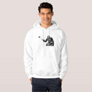 Selfie stick mens hooded hoodie sweatshirt hoody
