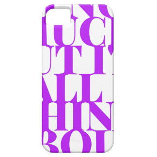 Selfish Sobriety Detox Drunk Fellowship iPhone 5 Cover