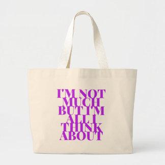Selfish Sobriety Detox Drunk Fellowship Large Tote Bag