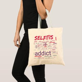 Selfitis, Selfie Addict Tote Bag