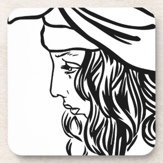 Selim, child of Damascus Coaster