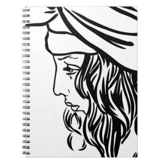 Selim, child of Damascus Spiral Notebook