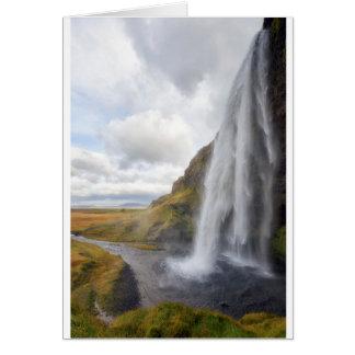 Seljalandsfoss Card