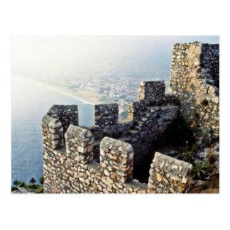 Seljuk Ramparts, Alanya - 1221 A.D. Postcard