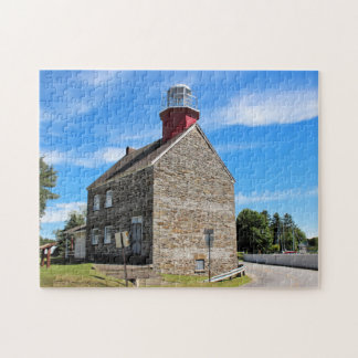 Selkirk Lighthouse, New York Jigsaw Puzzle