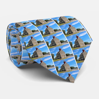 Selkirk Lighthouse, New York Mens Tie