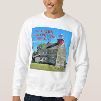 Selkirk Lighthouse, Salmon River New York Sweatshirt