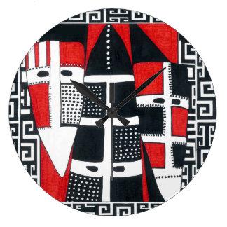 Selknam Square Wall Clock